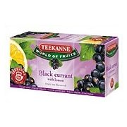 Teekanne Black Currant / Feketeribizli tea Citrommal (20 filter)