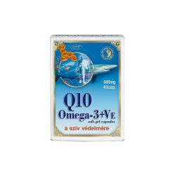 Dr. Chen Q10 Koenzim+Omega-3 lágyzselatin kapszula E-Vitaminnal (40 db)