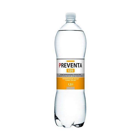 Preventa 125 ivóvíz csökkentett deutérium tartalmú szénsavas (1500 ml)