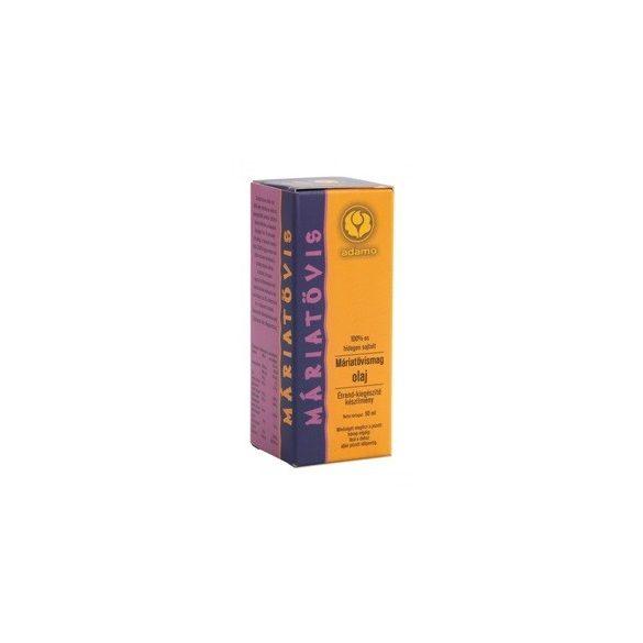 Adamo Máriatövismagolaj (50 ml)