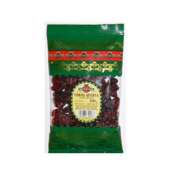 Naturfood Aszalt Vörösáfonya (100 g)