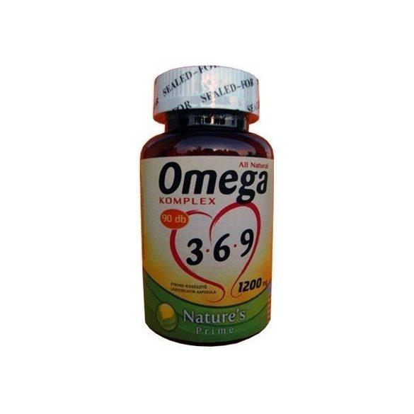 Nature's Prime Omega 3-6-9, 1200 mg (90 db)