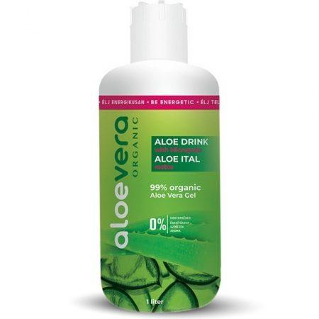 Alveola Eredeti Aloe Vera nektár, natúr, rostos, 99,7% (1000 ml)