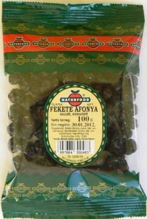 Naturfood Aszalt Fekete áfonya (100 g)
