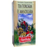 Apotheke Tea torokra és mandulára, filteres (20 db)