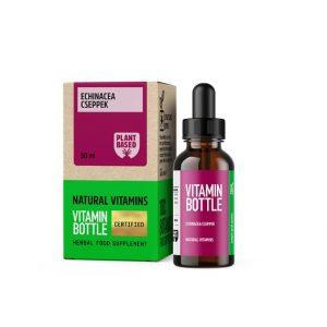 Vitamin Bottle Echinacea-Bíborkasvirág csepp (30 ml)