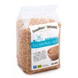 GreenMark Bio barna rizs kerekszemű (500 g)