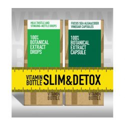 Vitamin Bottle Slim & Detox  (50 ml + 60 db)