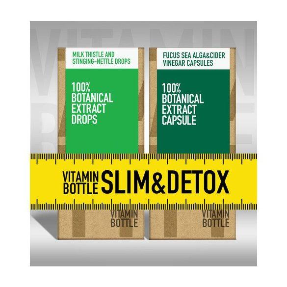 Vitamin Bottle Slim & Detox  (50 ml + 60 db)