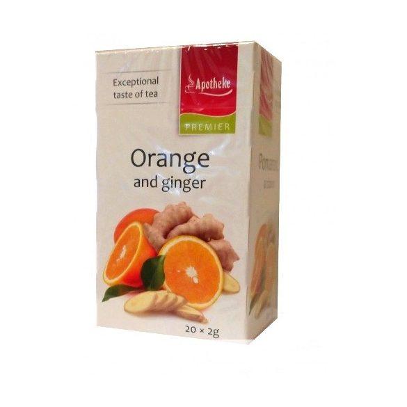 Apotheke Gyömbéres Narancs Tea (20x2g flt)