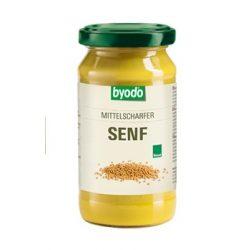 Byodo Bio enyhén csípős mustár (200 ml)