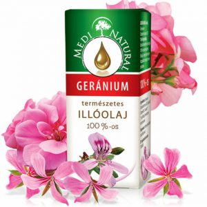 Medinatural 100%-os Geránium illóolaj (10 ml)