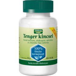 Zöldvér Tenger kincsei 100 % tabletta (78 db)