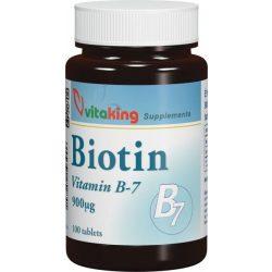 vitaking Biotin B-7 vitamin 900 mcg (100 db)