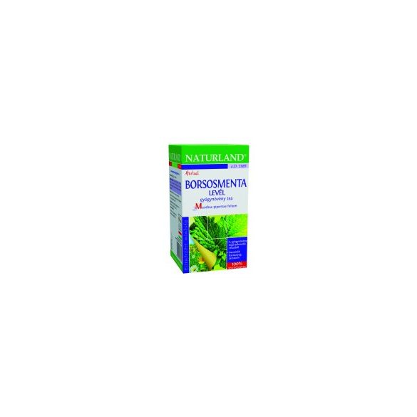 Naturland Borsmenta tea, filteres (25x1 g)