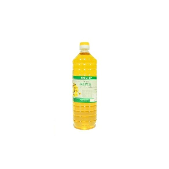 Solio Hidegen sajtolt repce olaj (1000 ml)