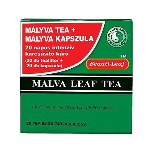 Dr. Chen Mályva tea + kapszula (20 filter + 20 db)