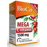 BioCo Mega C-vitamin 1500 mg nyújtott hatású (100 db)