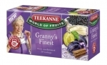Teekanne Granny's Finest szilva-fehéj tea (20 filter)