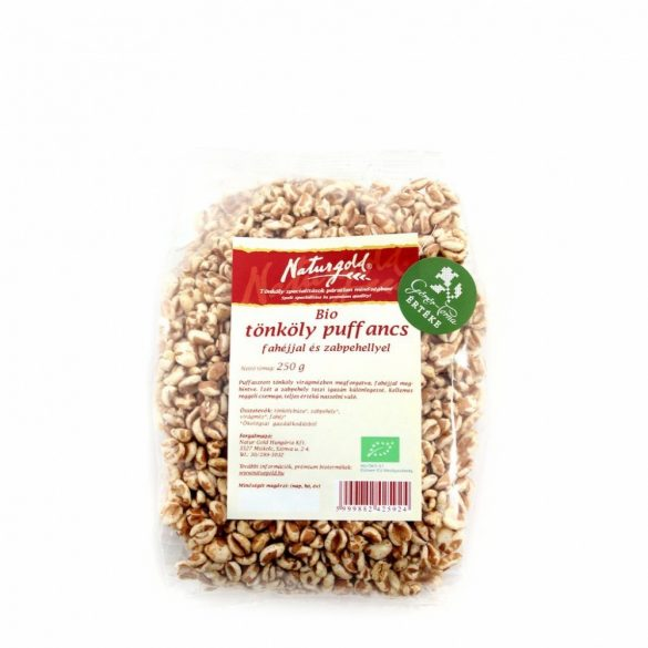Naturgold Bio Tönköly puffancs fahéjas (250 g)