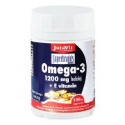 JutaVit Omega-3 halolaj 1200 mg E-vitaminnal (40 db)