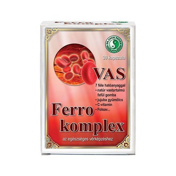 Dr. Chen Ferro-Komplex kapszula (30 db)