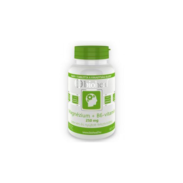 Bioheal Magnézium + B6-vitamin szerves, nyújtott felszívódású (70 db)