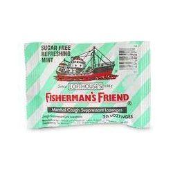 Fisherman's Friend Cukorka hűsítő mentolos és cukormentes (25 g)