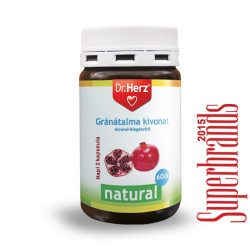 Dr. Herz Gránátalma kivonat 500 mg kapszula (60 db)
