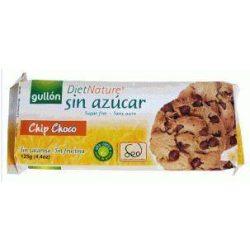 Gullon Diabetikus keksz csokoládé-darabkákkal (125 g)