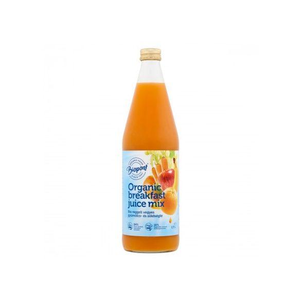 Biopont Bio Reggeli vegyes gyümölcslé répával (750 ml)