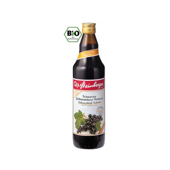 Dr. Steinberger Bio Feketeribizlilé (750 ml)