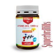 Dr. Herz Lysine + HCL 1000 mg tabletta (120 db)