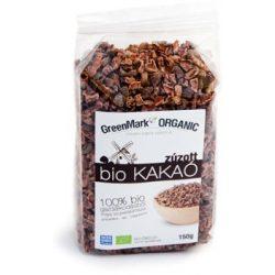 GreenMark Bio kakaóbab pörkölt zúzott (150 g)