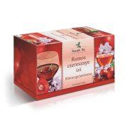 Mecsek Tea Rumos Cseresznye ízű filteres gyümölcstea (20 x 2 g)
