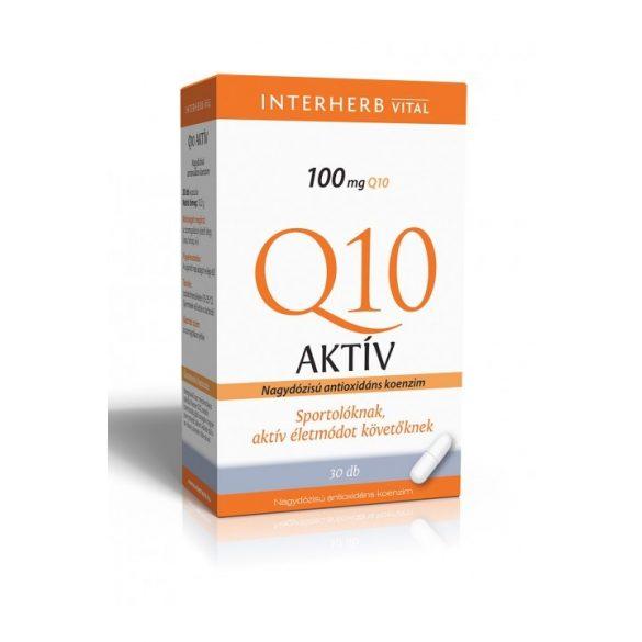 Interherb Vital Q10 Aktív 100 mg-os kapszula (30 db)