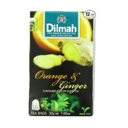 Dilmah Fekete tea, Orange & Ginger aromás, filteres (20 db)