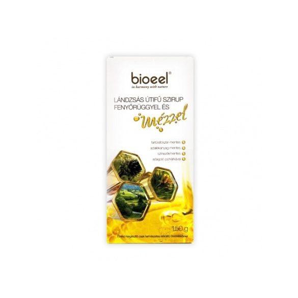 Bioeel Lándzsás útifű szirup fenyőrüggyel és mézzel (150 ml)