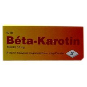 Béta Karotin tabletta (40 db)