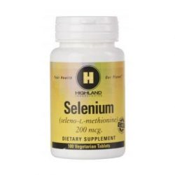 Highland Selenium 200 mcg tabletta (100 db)