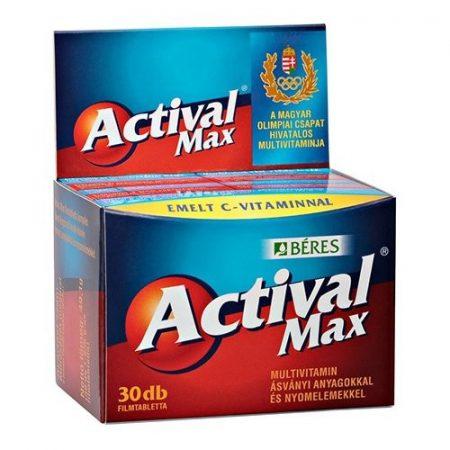 Béres Actival Max filmtabletta (30 db)