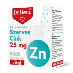 Dr. Herz Szerves Cink (60 db)