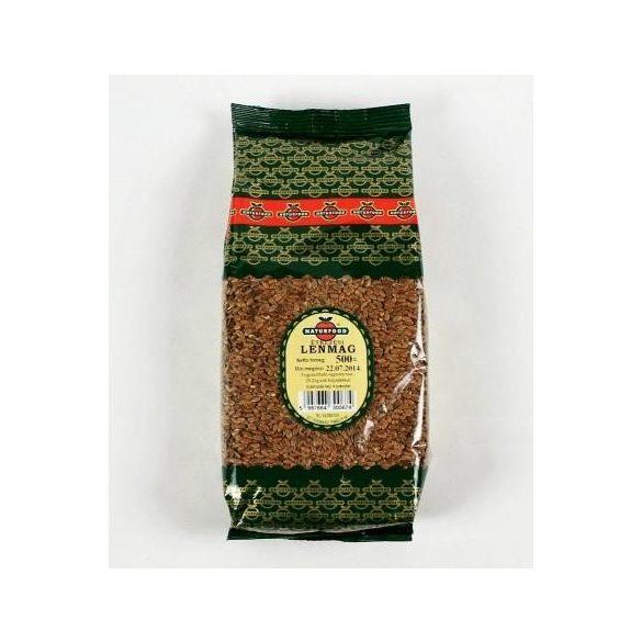 Naturfood Étkezési Lenmag (500 g)