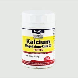 JutaVit Kalcium+Magnézium+Cink forte + D3 vitamin (90 db)