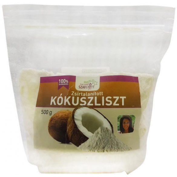 Szafi Reform Zsírtalanított kókuszliszt (500 g)