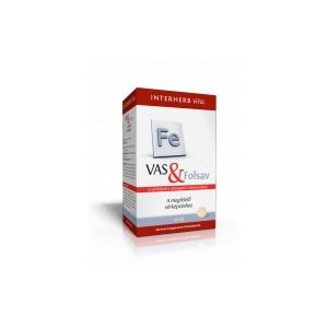 Interherb VITAL Vas & Folsav tabletta (60 db)