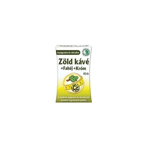 Dr. Chen Zöld kávé + fahéj + króm tabletta (60 db)