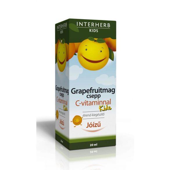 Interherb Vital KIDS Grapefruitmag csepp C-vitaminnal (20 ml)