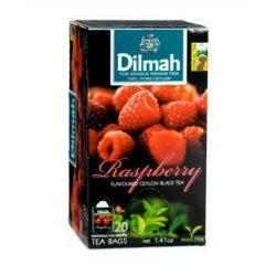 Dilmah Fekete tea, Raspberry aromás, filteres (20 db)