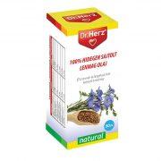 Dr. Herz 100% Hidegen sajtolt lenmag olaj (50 ml)